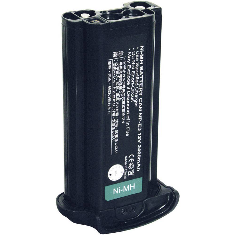 Akumulator za kamero Conrad energy nadomestek za originalni akumulator NP-E3 12 V 1800 mAh