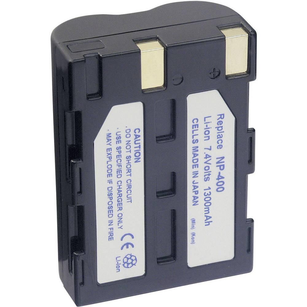 Baterija za kameru Conrad energy 7.4 V 1300 mAh zamjenjuje originalnu bateriju NP-400