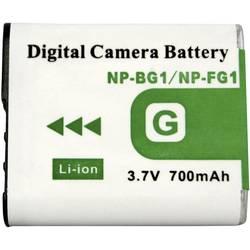 Kamerabatteri Conrad energy Ersättning originalbatteri NP-BG1, NP-FG1 3.7 V 1000 mAh