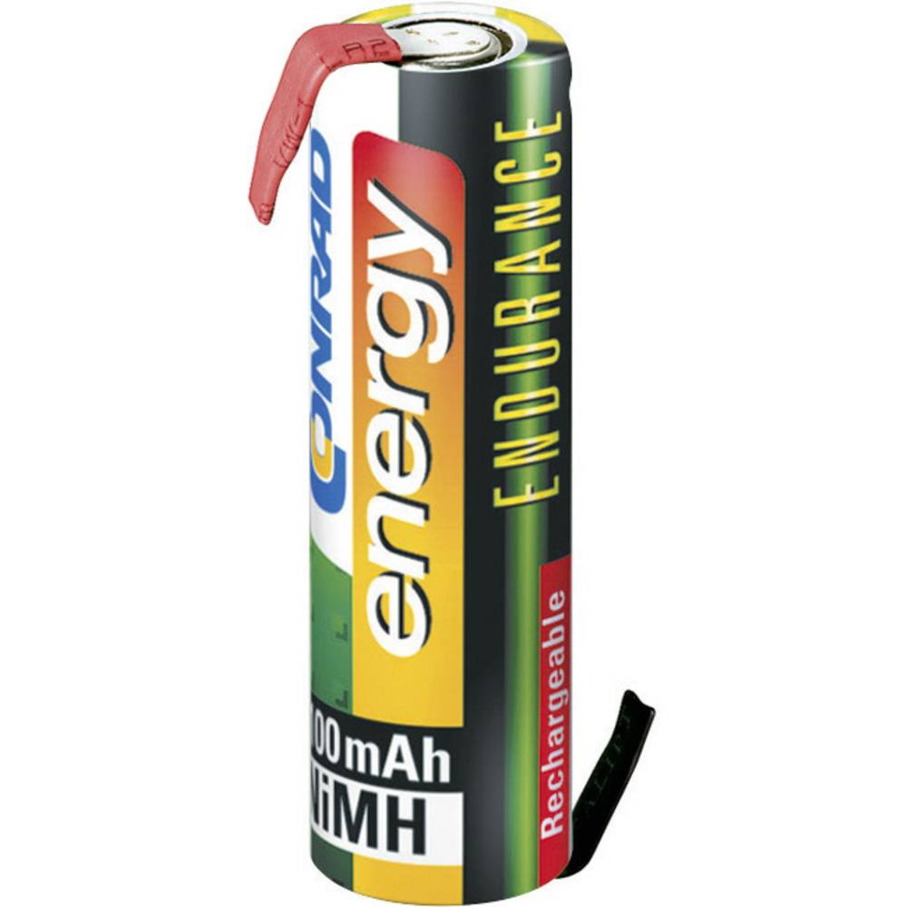 Posebna baterija na punjenje Mignon (AA) Z-lemna zastavica NiMH Conrad energy Endurance ZLF 1.2 V 2000 mAh
