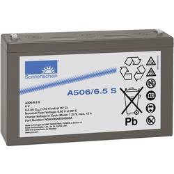 Olovni akumulator 6 V 6.5 Ah GNB Sonnenschein A506/6,5 S NGA50606D5HS0SA olovno-gelni (Š x V x D) 152 x 99 x 35 mm plosnati utik