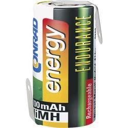 NiMH akumulator Conrad energy Endurance Sub C Z-spajkalni priključek 1.2 V 3000 mAh (Ø x D) 22.5 mm x 43 mm