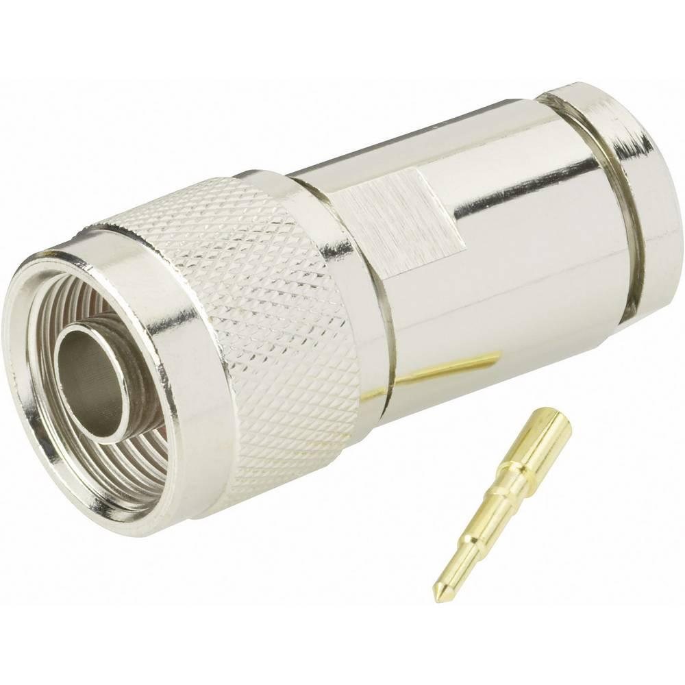 N-stikforbindelse BKL Electronic 0404060 50 Ohm Stik, lige 1 stk