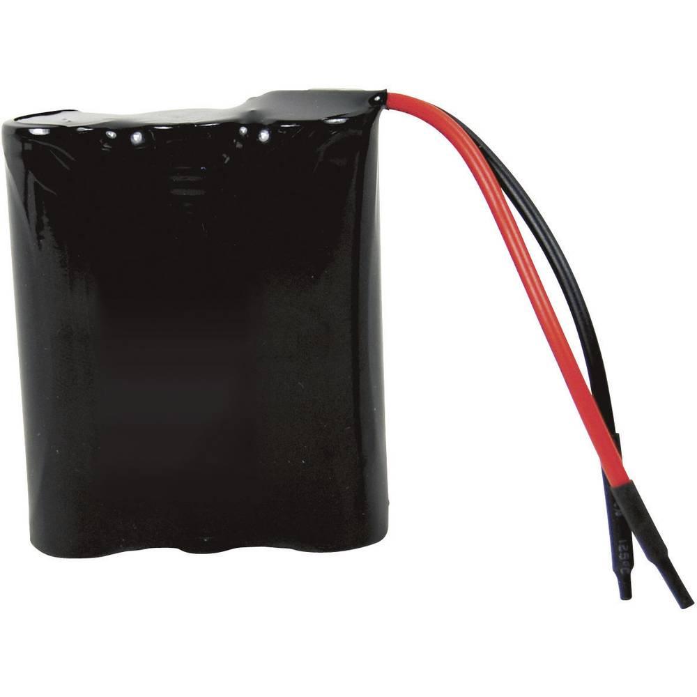 Litij-ionski akumulatorski paket s kablom Samsung ICR18650 3-delni 11.1 V 2600 mAh (D x Š x V) 55.5 x 19 x 70 mm