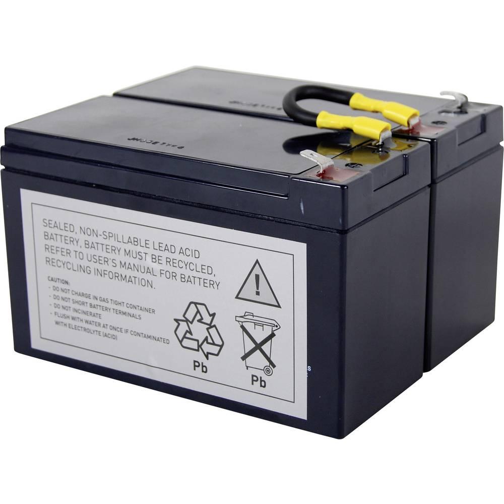 Baterija za UPS Conrad energy nadomešča orig. baterijo RBC5 primerno za model: SU450I, SU450INET, SU700INET