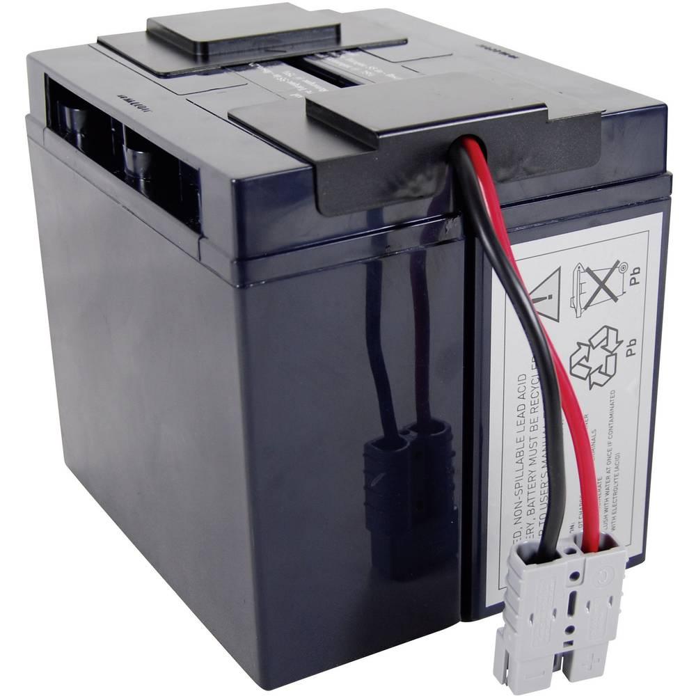 UPS na akumulator Conrad energy Nadomešča originalno baterijo RBC7 N/A