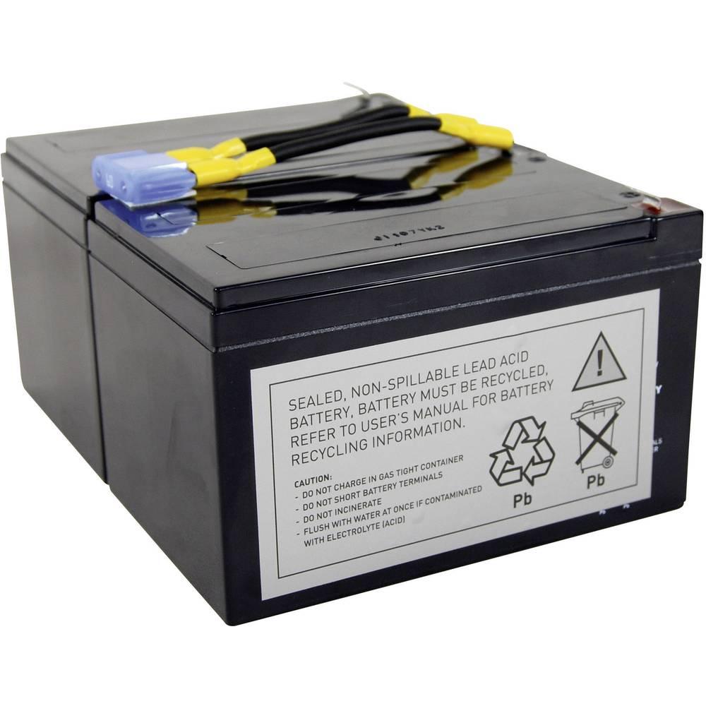 Akumulator za UPS Conrad energy zamjenjuje originalni akumulator RBC6 za modele APC10IA, BP1000, BP1100, DLA1500J, NECA1000JW, S