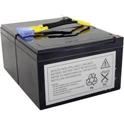 UPS-systembatteri Conrad energy Erstatter original-batteri RBC6