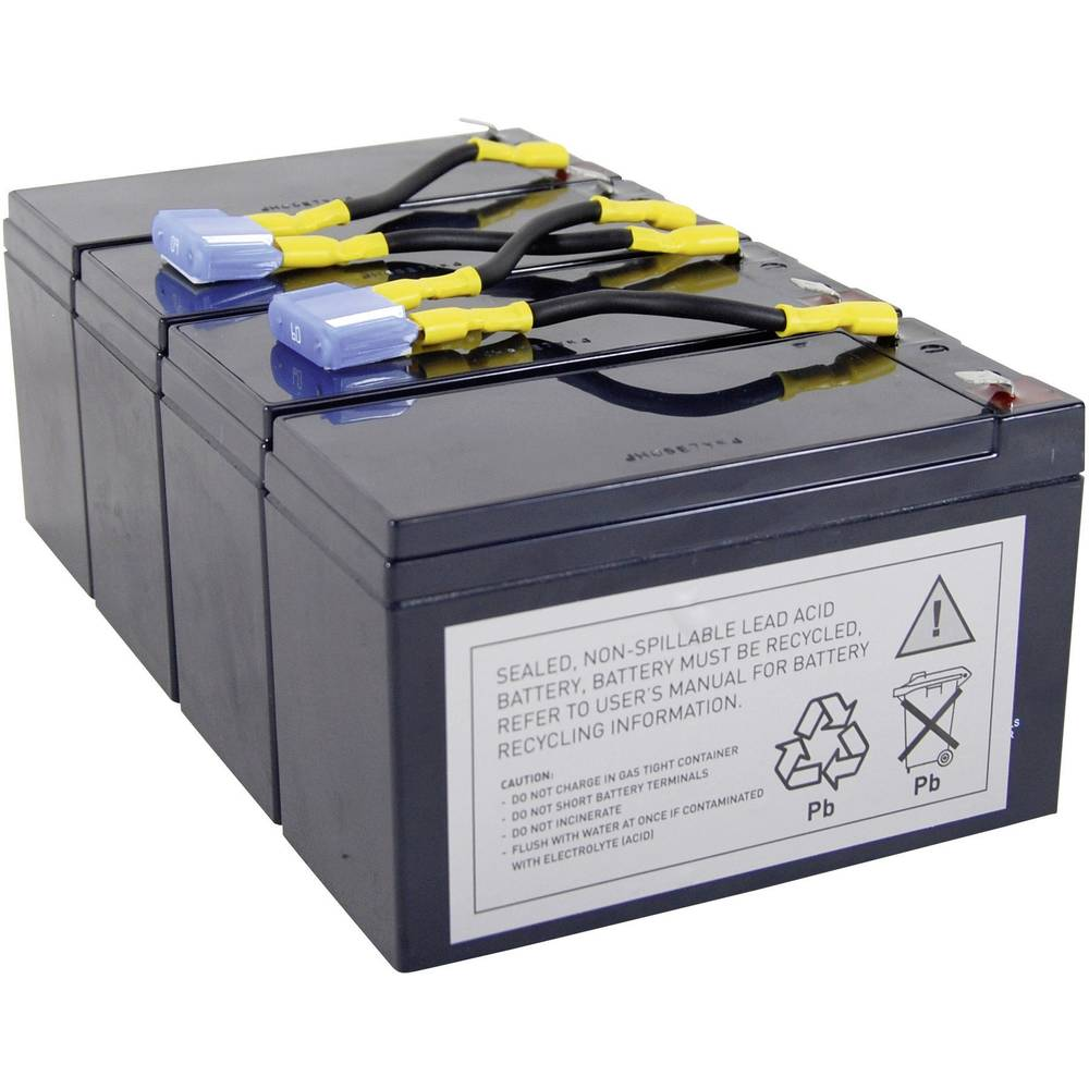 Baterija za UPS Conrad energy nadomešča orig. baterijo RBC8 primerno za model: SU1400RMINET, SU1400RMI, SU1400R