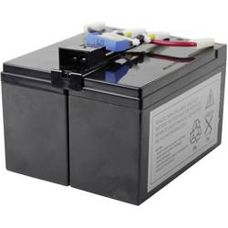 Conrad energy CE-RBC48 Design-Life 10J. ups na akumulator Nadomešča originalno baterijo RBC48 Primerno za blagovne znamke APC