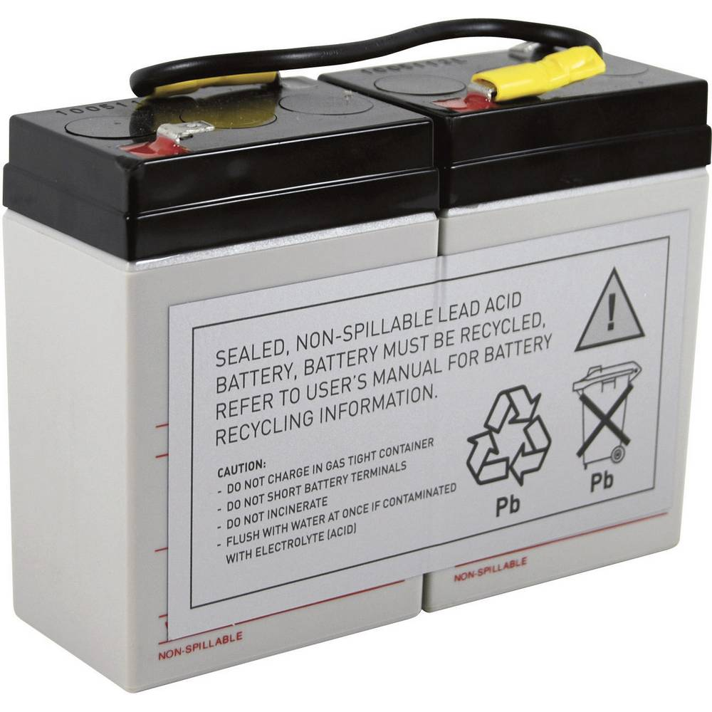 Baterija za UPS Conrad energy nadomešča orig. baterijo RBC1 primerno za model: BK200, BK200B, BK200BI
