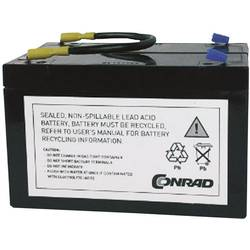 UPS-batteri Conrad energy ersätter org. batteri RBC3