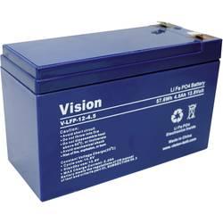 LiFePO4 akumulator Vision, 12V, 5 Ah, (D x Š x V) 150 x 65x105 mm VIS LFP124.5 Vision Akkus