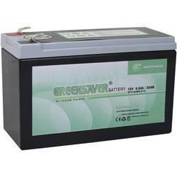 Olovni akumulator 12 V 8.5 Ah Greensaver SP8.5-12, SP6-12 SP6-12/SP8.5-12 olovno-silikonski (D x Š x V) 151 x 65 x 95 mm plosnat