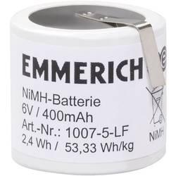 Batteripack 5x Special-ackumulator;Z-lödfana;NiMH;Emmerich;1007-5-LF;6 V;400 mAh