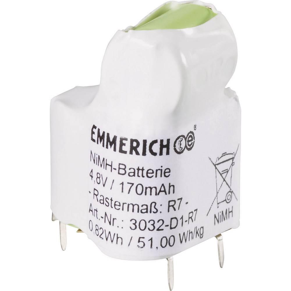 Emmerich NiMH-specijalni akumulatorski paket R7 4.8 V SLF 170 mAh (D x Š x V) 20 x 22 x 29 mm