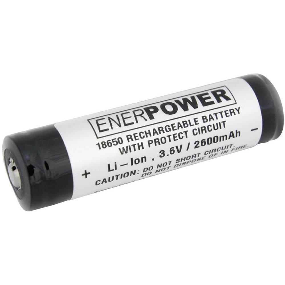 Litij-ionski akumulator Enerdan 18650, 3,7 V, 2.600 mAh, (Ø x V) 18,5 x 69,5 mm 135278
