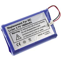 PDA-batteri XCell 170-0737, B520003 3.7 V 1600 mAh