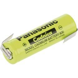 Specialbatteri laddbart R6 (AA) Z-lödfana NiCd Panasonic AA ZLF 1.2 V 600 mAh 1 st