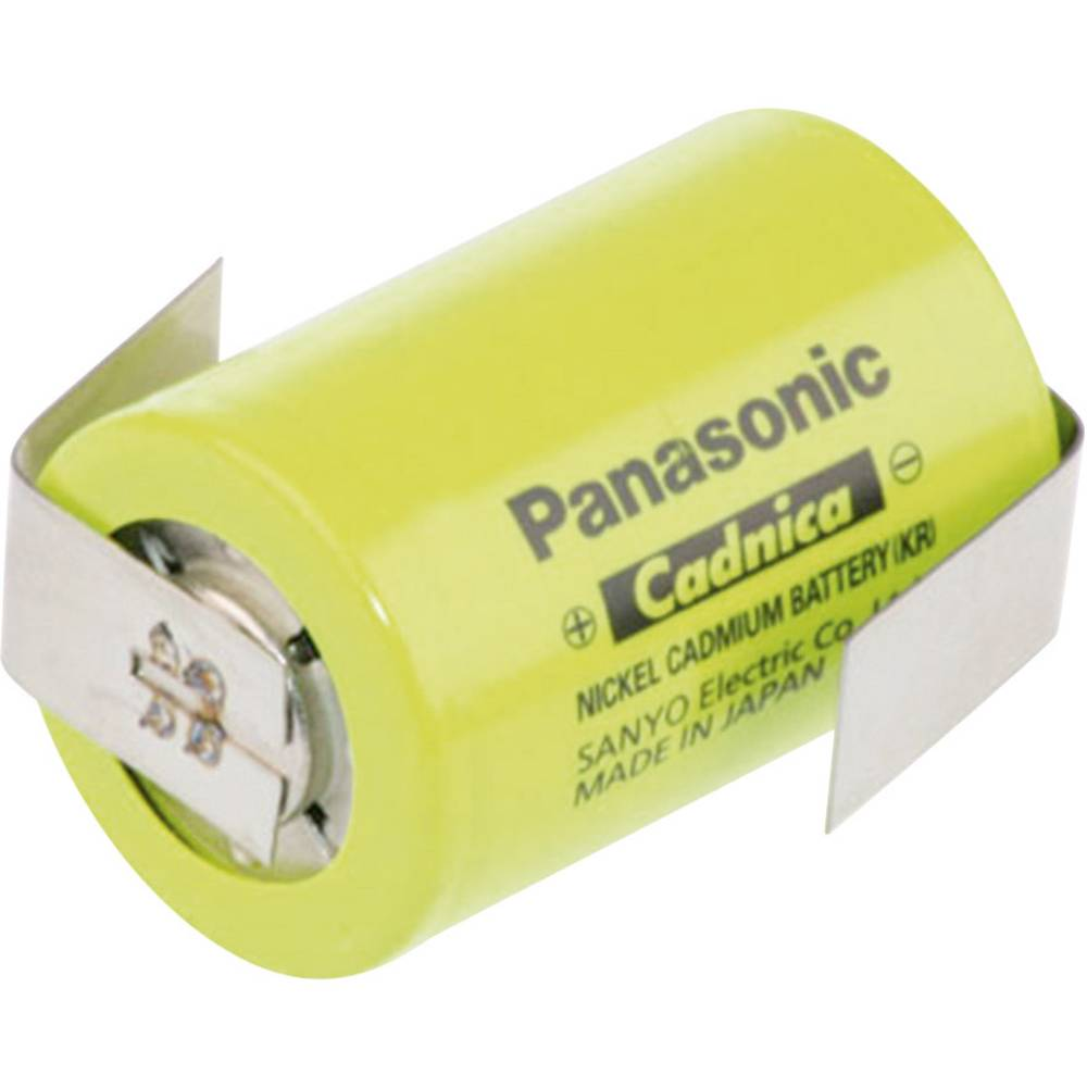 NiCd akumulatorska baterija Panasonic 4/5 Sub-C, Z-spajkalni priključek 1.2 V 1250 mAh (Ø x V) 22.9 mm x 34 mm N-1250SCRL