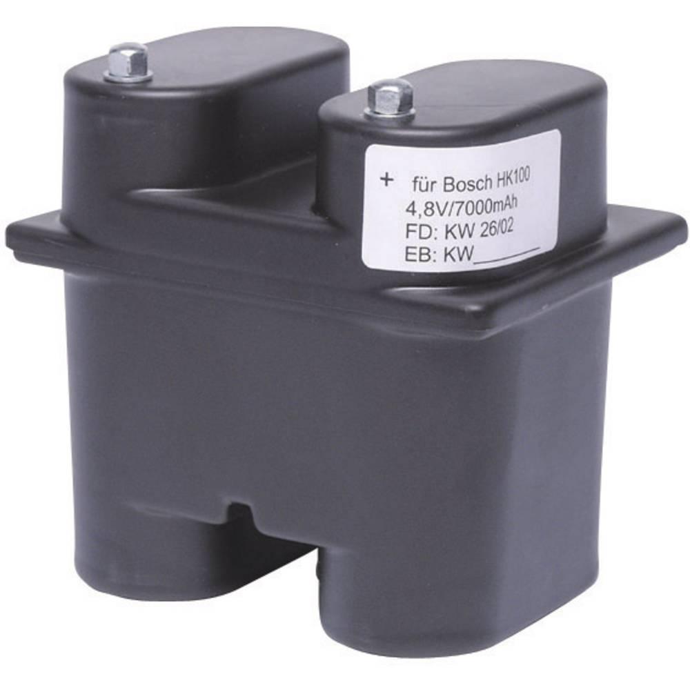 Akumulator za ročno baterijo nadomešča orig. akumulator HKEB 100-EN, IIIB/E-16587, 7781297008, 7781297009, 7781207013, 778120701