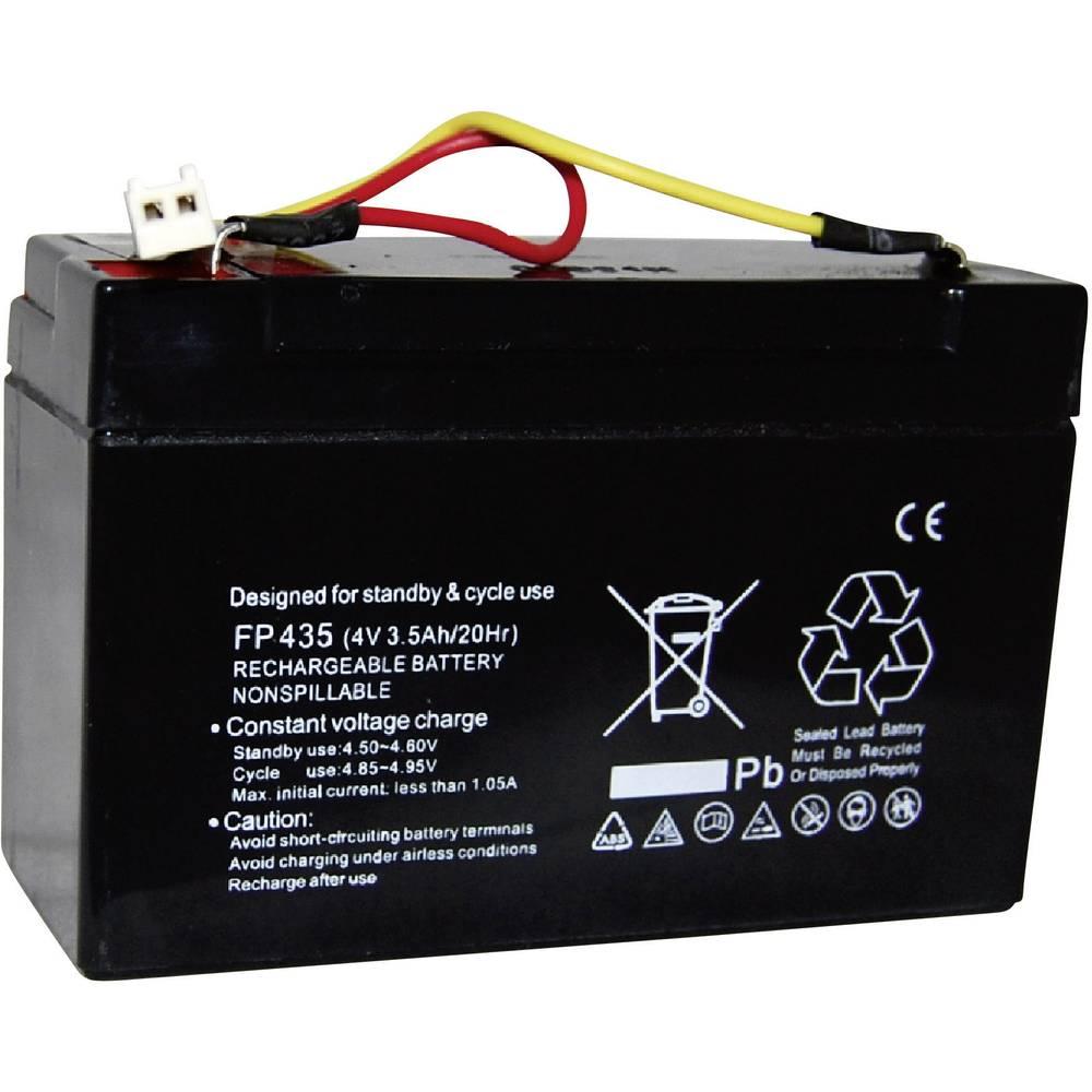 Akumulator za ročno svetilko nadomešča orig. akumulator HB90A 4 V 3400 mAh