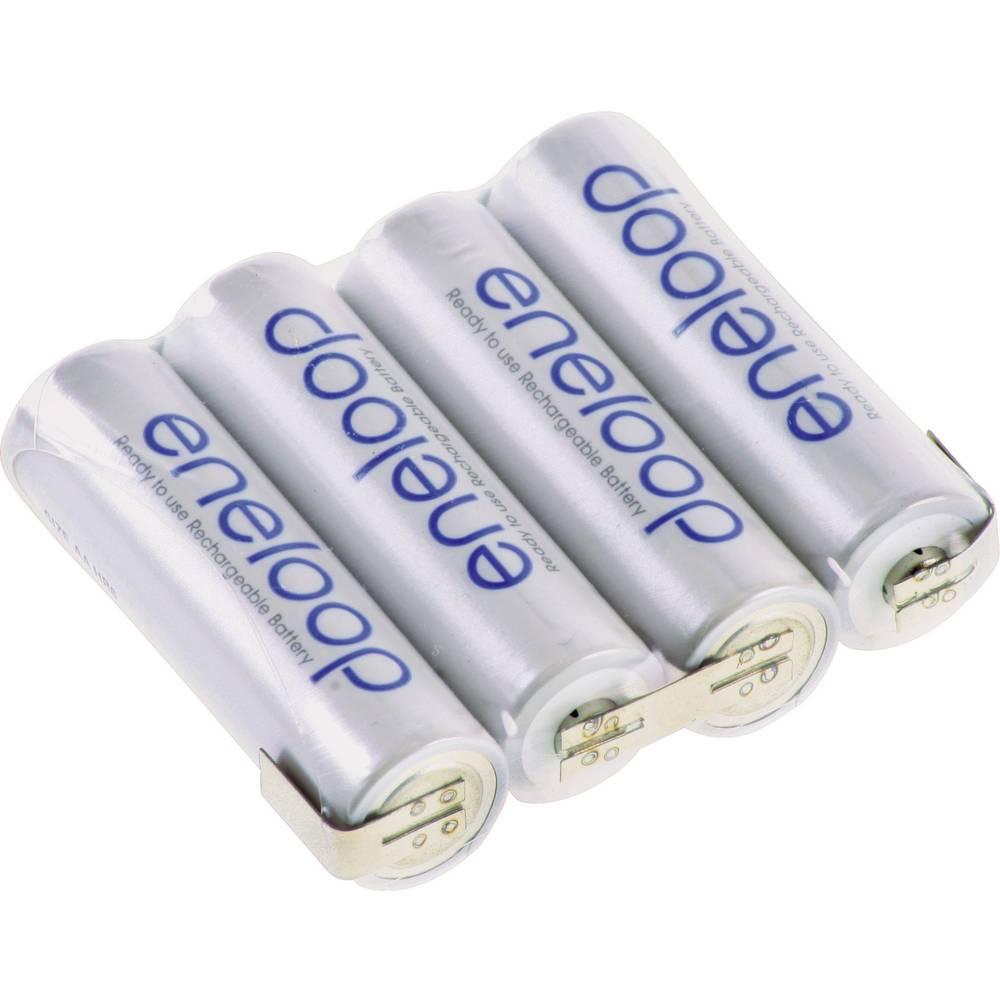 Akumulatorski paket Eneloop Mignon 4, 8 V, Z-spajkalni priključek 2000 mAh (D x Š x V) 58 x 14.5 x 50.5 mm
