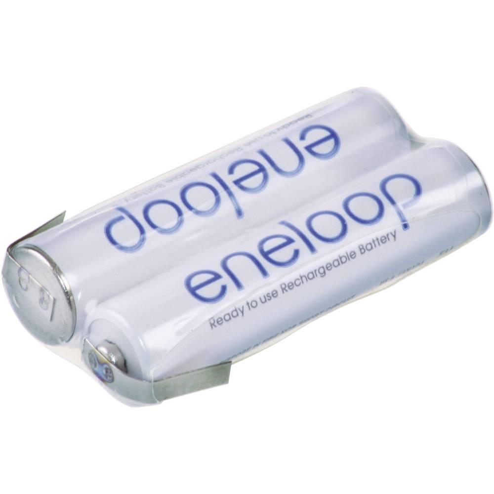 Akumulatorski paket Eneloop Micro 2, 4 V, Z-spajkalni priključek 800 mAh (D x Š x V) 21 x 10.5 x 44.5 mm