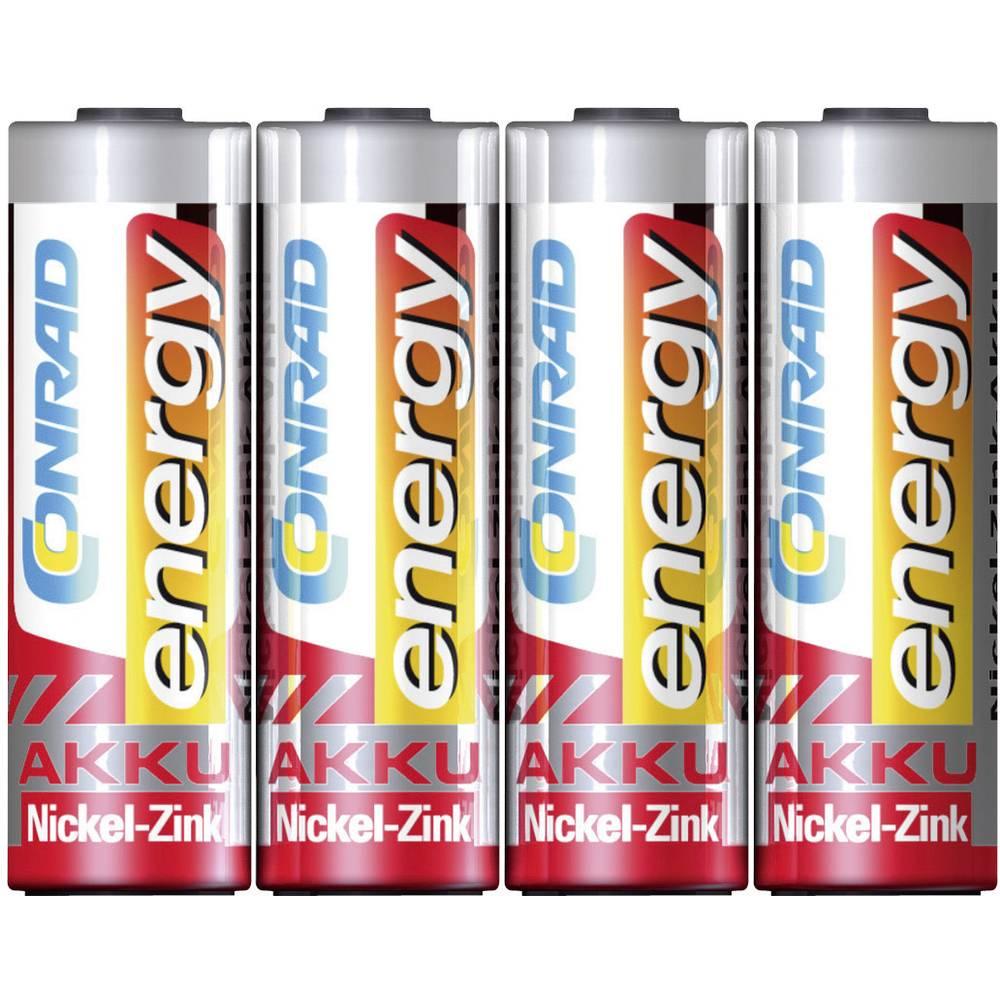 Mignon (AA) baterija na punjenje NiZn Conrad energy HR06 1500 mAh 1.6 V 4 kom.