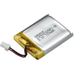 LiPo-akumulator Renata ICP402025PC-1, 3, 7 V, 155 mAh, ICP052128, (D x Š x V) 27.5 x 20.5 x 4.3 mm 100644
