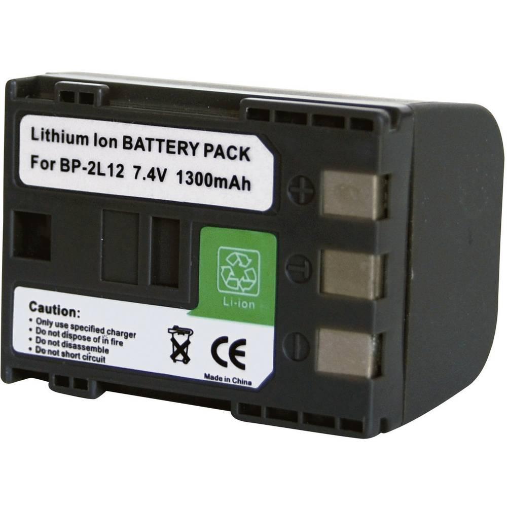 Baterija za kameru Conrad energy 7.4 V 1100 mAh zamjenjuje originalnu bateriju BP-2L12, BP-2L14