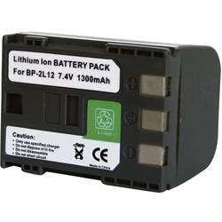 Kamerabatteri Conrad energy Ersättning originalbatteri BP-2L12, BP-2L14 7.4 V 1100 mAh