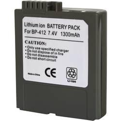 Kamerabatteri Conrad energy Ersättning originalbatteri BP-412 7.4 V 1300 mAh