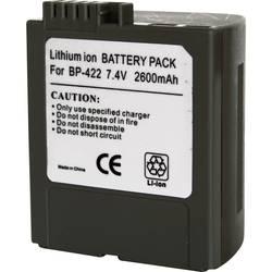 Kamerabatteri Conrad energy Ersättning originalbatteri BP-422 7.4 V 2600 mAh