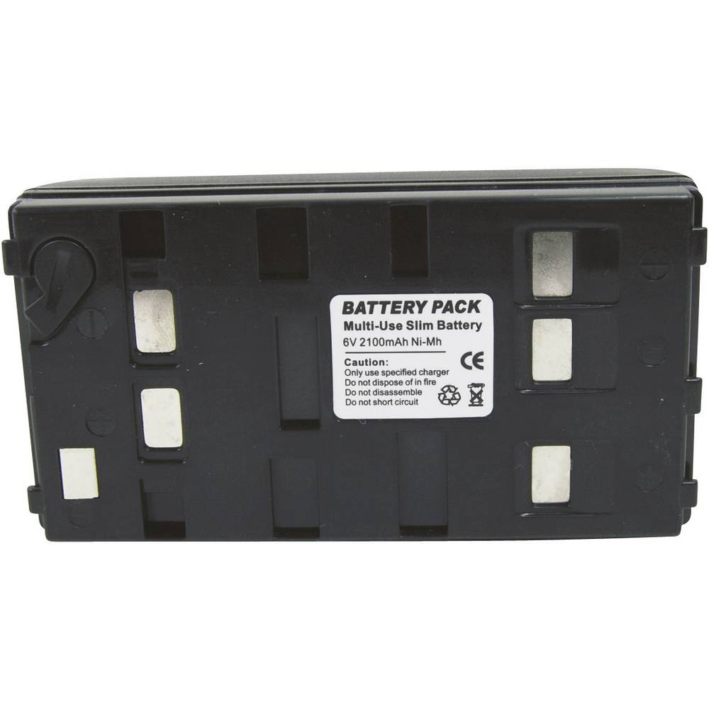 Akumulator za kamero Conrad energy nadomestek za originalni akumulator BN-V12U 6 V 1800 mAh