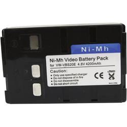 Kamerabatteri Conrad energy Ersättning originalbatteri BN-V25U 6 V 3600 mAh
