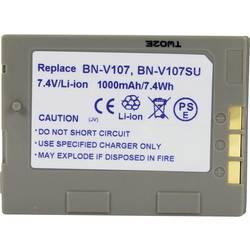 Kamerabatteri Conrad energy Ersättning originalbatteri BN-V107 7.2 V 650 mAh