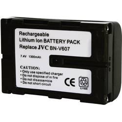 Kamerabatteri Conrad energy Ersättning originalbatteri BN-V607 7.2 V 1300 mAh