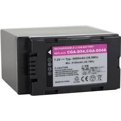 Akumulator za kamero Conrad energy nadomestek za originalni akumulator CGR-D54 7.2 V 4800 mAh