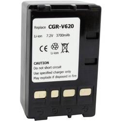 Kamerabatteri Conrad energy Ersättning originalbatteri CGR-V620 7.2 V 4000 mAh