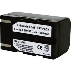 Akumulator za kamero Conrad energy nadomestek za originalni akumulator SB-LSM160 7.4 V 1400 mAh