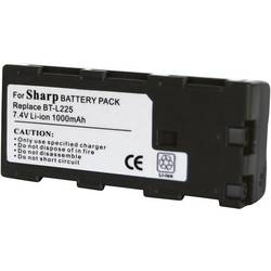Akumulator za kamero Conrad energy nadomestek za originalni akumulator BT-L225 7.2 V 900 mAh