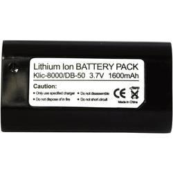 Kamerabatteri Conrad energy Ersättning originalbatteri KLIC-8000 3.7 V 1400 mAh