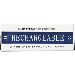 Kamerabatteri Conrad energy Ersättning originalbatteri BP-1100S 3.6 V 1000 mAh