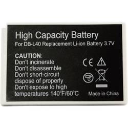 Kamerabatteri Conrad energy Ersättning originalbatteri DB-L40 3.7 V 800 mAh
