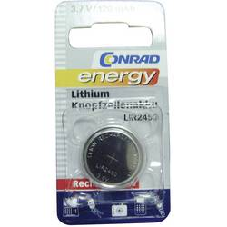Gumbasta baterija na punjenje LIR 2450 Conrad energy litijska LIR2450 120 mAh 3.6 V 1 kom.