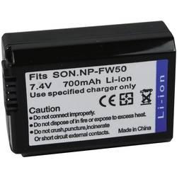 Kamerabatteri Conrad energy Ersättning originalbatteri NP-FW50 7.4 V 700 mAh