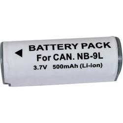 Akumulator za kamero Conrad energy nadomestek za originalni akumulator NB-9L 3.7 V 500 mAh