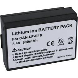 Kamerabatteri Conrad energy Ersättning originalbatteri LP-E10 7.4 V 800 mAh