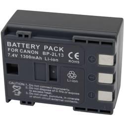 Kamerabatteri Conrad energy Ersättning originalbatteri BP-2L14 7.4 V 1200 mAh